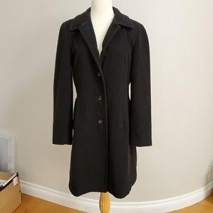 LONDON FOG Black Coat, SMALL